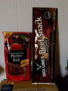 Ostmann Gewürzzubereitung Pfeffer Rub Jack Link's Beef Snack